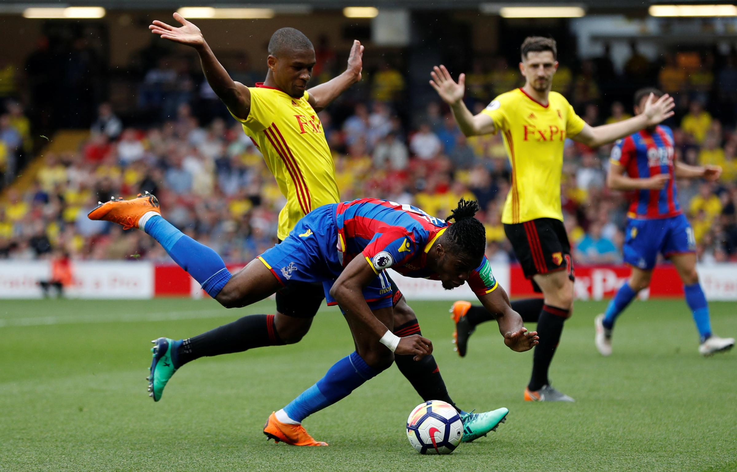 Wilfried Zaha: There is an agenda against me, says Crystal Palace winger