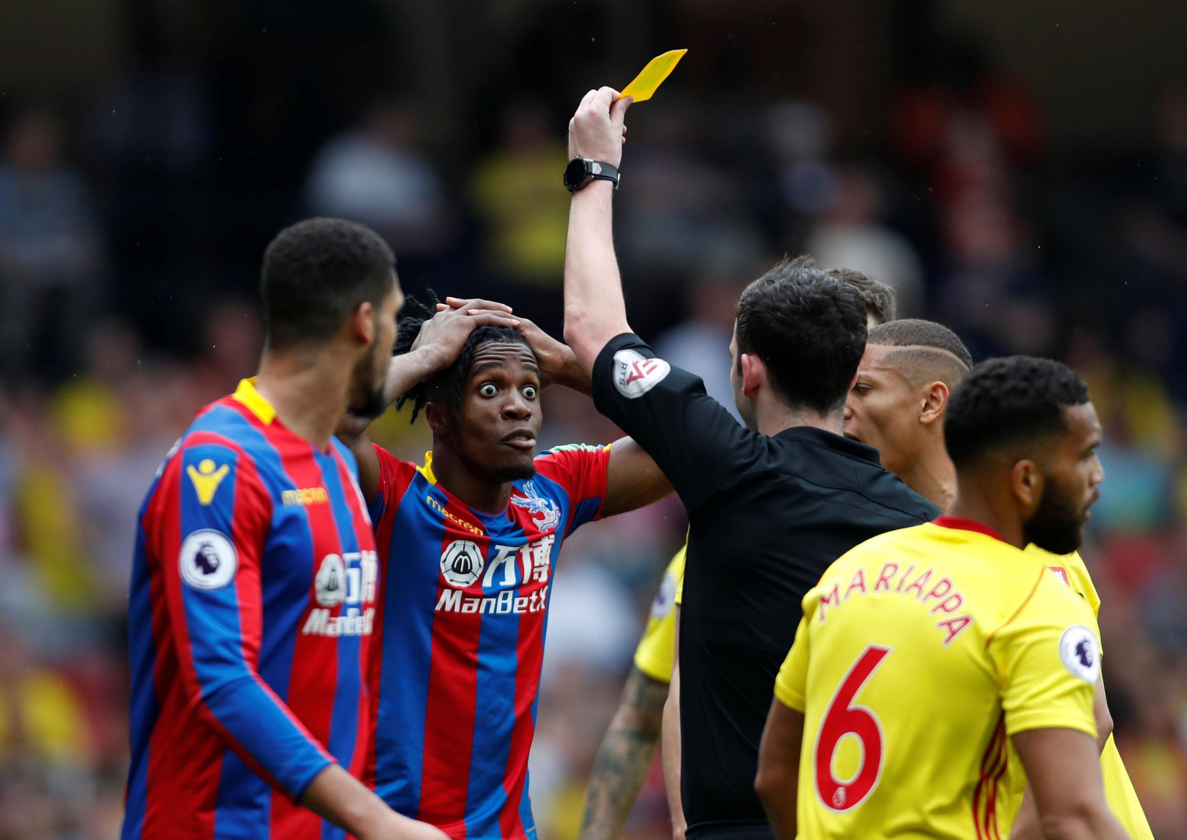 Crystal Palace record delights Zaha, hopes to stretch feat