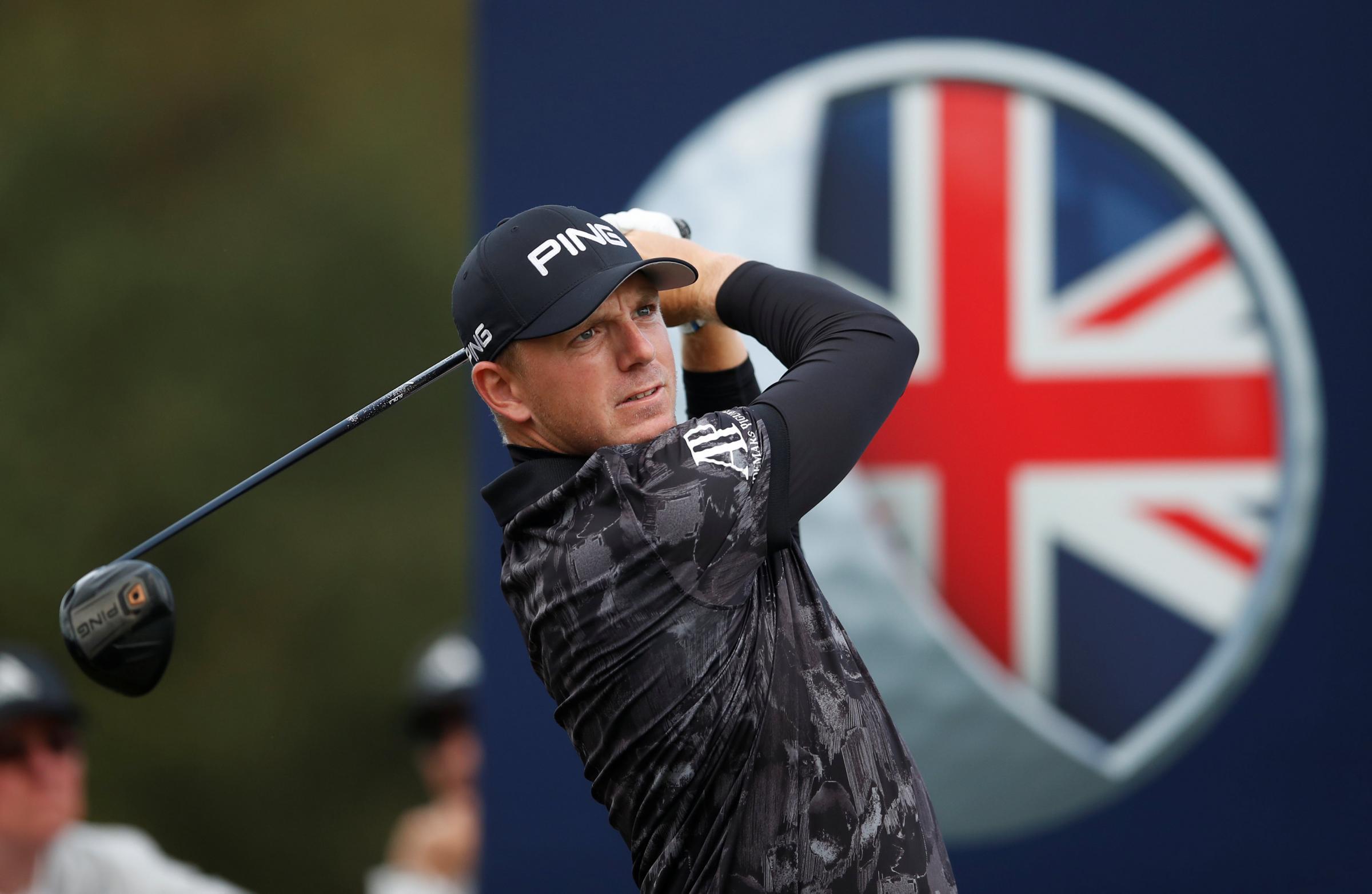 Tommy Fleetwood shares British Masters lead despite freak dropped shot