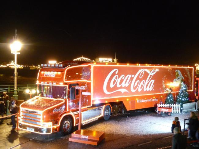 The Coca Cola truck will be at Watford Asda this September